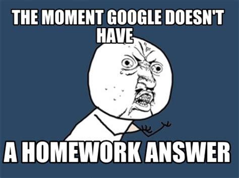 Homework excuse Meme Generator - silverbulletfilmcom